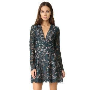 Stylestalker Davis Long Sleeve Lace Dress - XS
